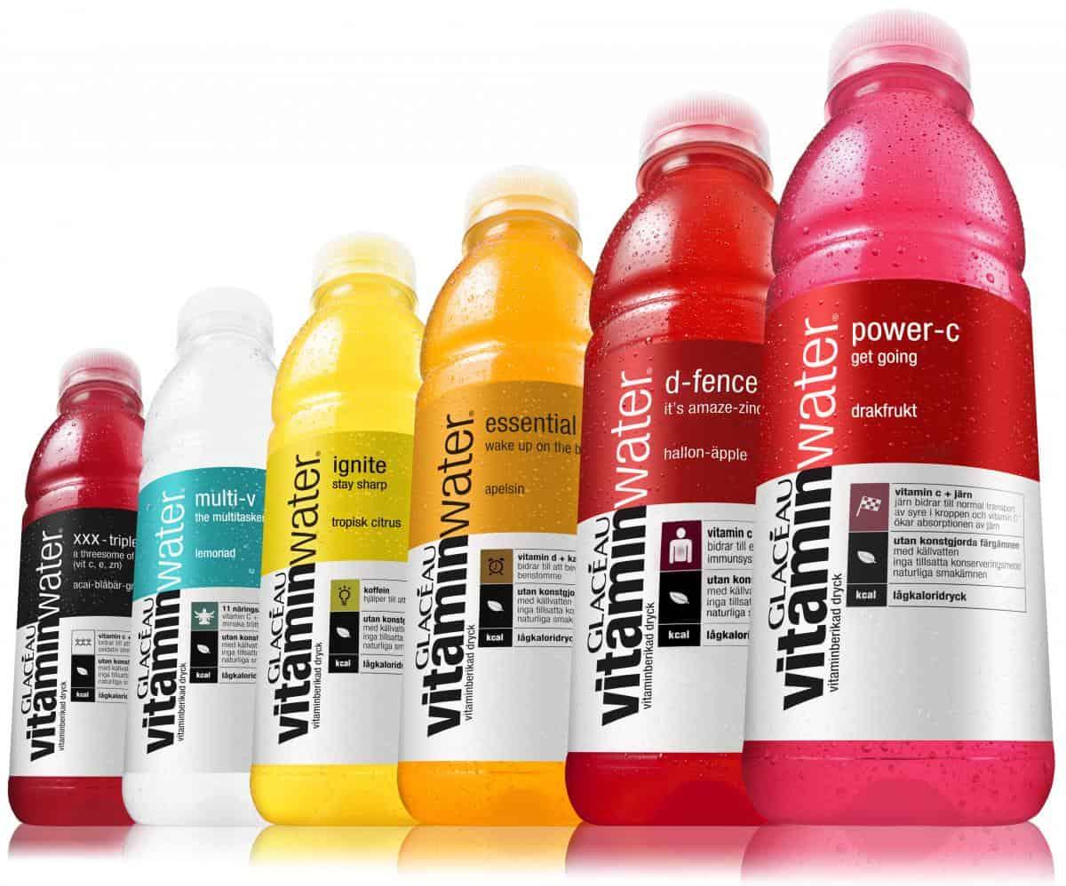 Glacau vitaminwater YDnHSL