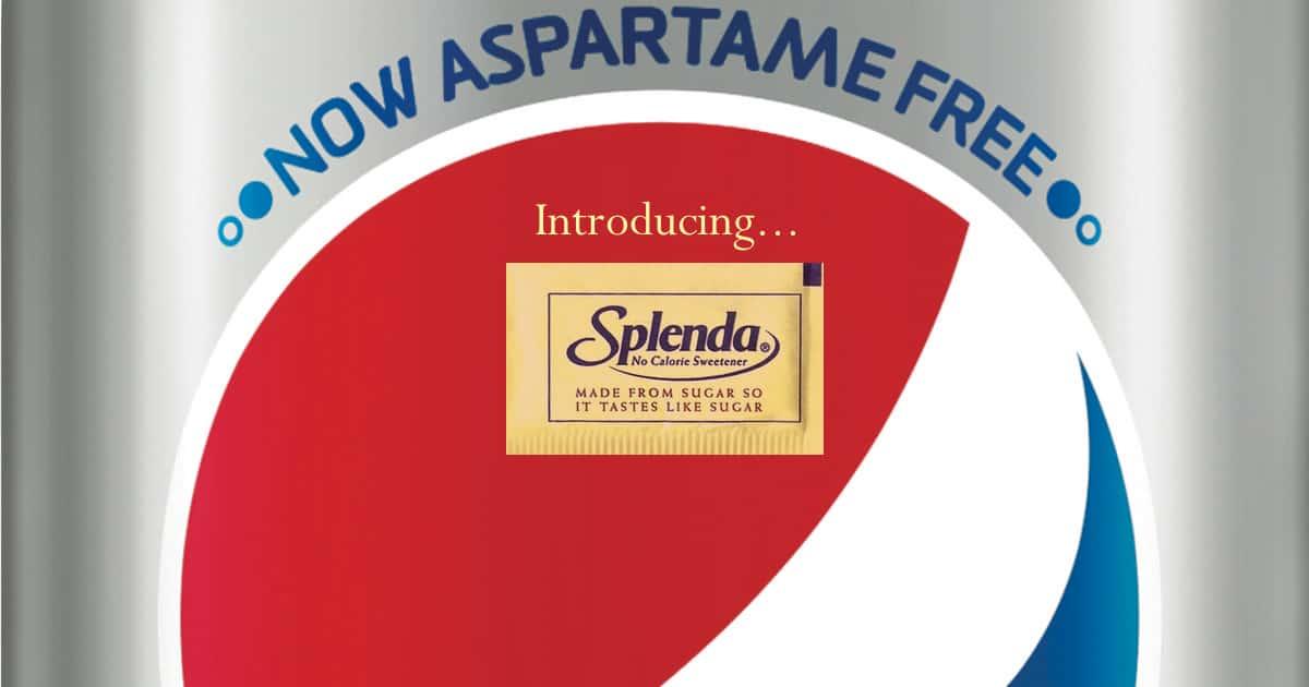 does splenda have aspartame