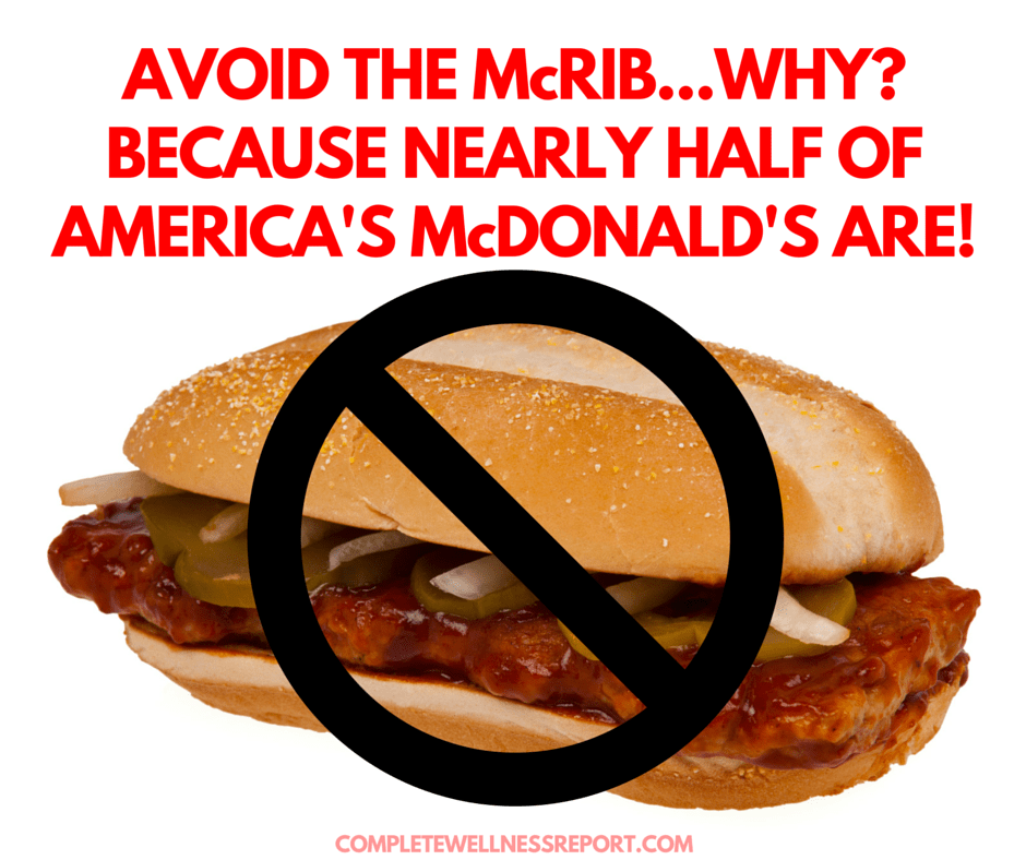AVOID THE MCRIB