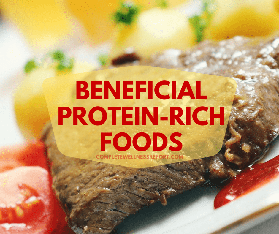 BENEFICIAL PROTEIN-RICH FOODS