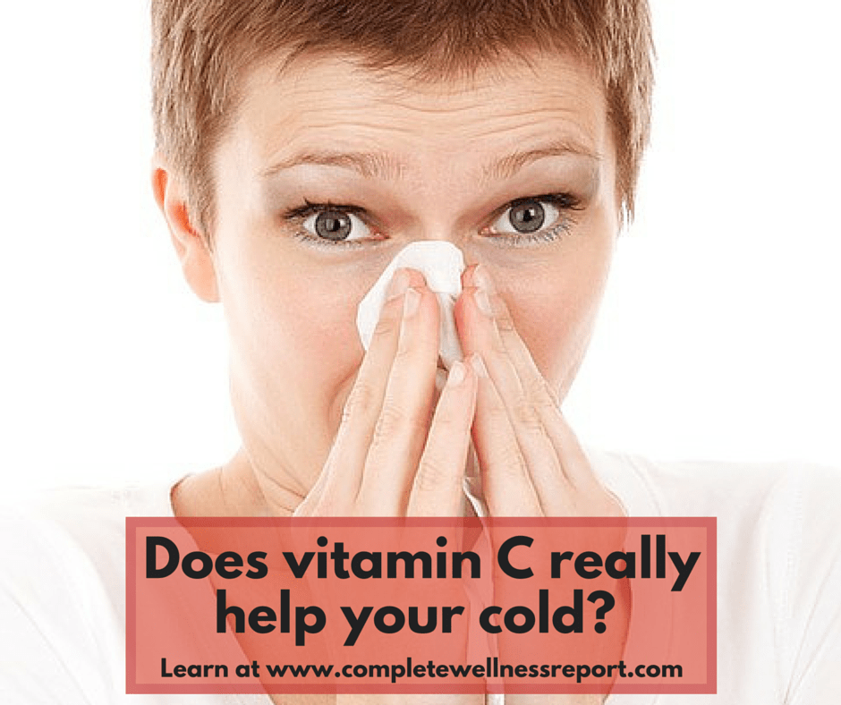 Does vitamin C really help your cold-