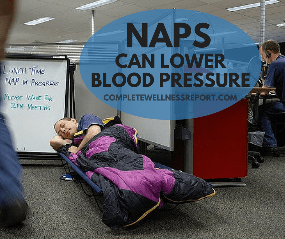 NAPS CAN LOWER BLOOD PRESSURE