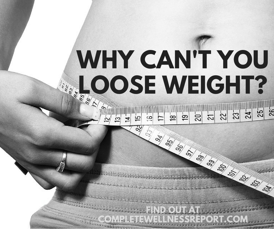 What's Fitting Against You Losing Weight-